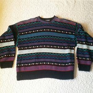 Vintage Great Northwest Small Stripe Knit Sweater